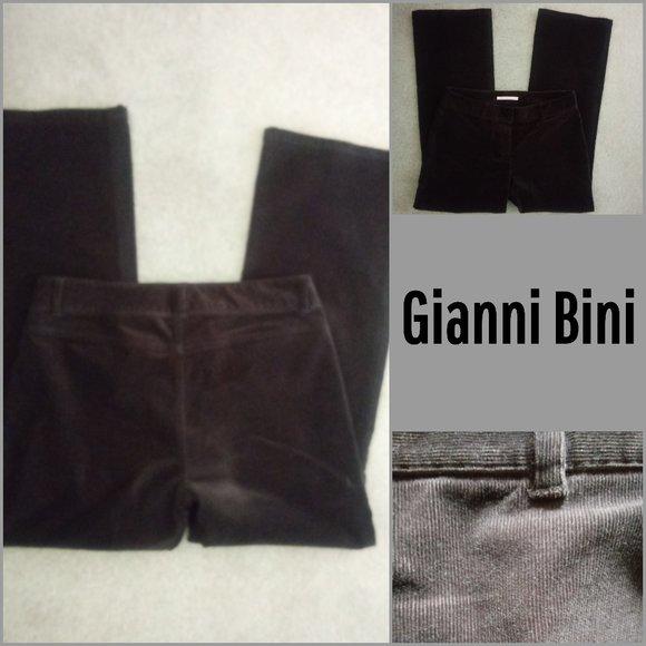 Gianni Bini Pants - Gianni Bini Chocolate Corduroy Pants